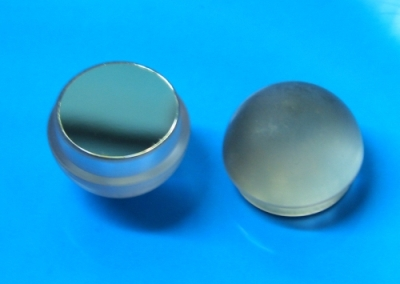"Shouldered 1"" thin walled blade tip with reflective disc"