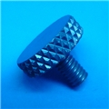 "8-32 x .3"" blue thumb screw"