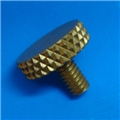 "8-32 x .3"" Gold thumb screw"