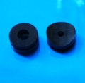 Black machined button for Covertec clip