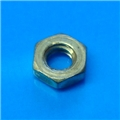 Brass 4-40 Hex nut
