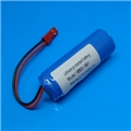 Li-Ion 18500 3.7V 1400mAh PCB Protected Rechargeable Battery Module