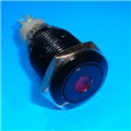 16mm Anti Vandal Momentary Green Dot Switch