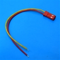 JST Male connector 26AWG Yellow/Red short
