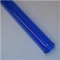 "1"" Thin walled Trans Blue PolyC 40"" long"