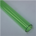 "1"" Thin walled Trans Green PolyC 40"" long"