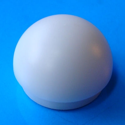 "White shouldered 1"" thick walled blade tip with reflective disc"
