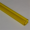 "1"" Thin walled Trans Yellow PolyC 40"" long"