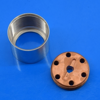 "Heatsink module for 1"" ID tubes with center hole"