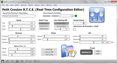 R.I.C.E.™ (Real-Time Internal Configuration Editor™)