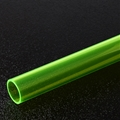 "7/8"" Thin walled Photon Green PolyC 40"" long"