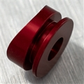 Red machined button for Covertec clip
