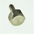 "8-32 x 1/2"" Hex thumb screw- Stainless"