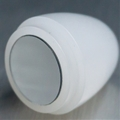 "1"" Thin walled Trans White parabolic mirrored blade tip"