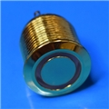 16mm Anti Vandal Short Momentary Green Ring Switch