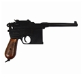 1896 Mauser Broomhandle Replica Pistol - Laquered Grips