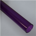 "1"" Thin walled Trans Purple PolyC 40"" long"