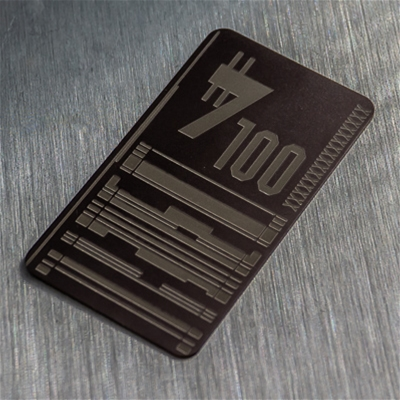 $100 Gift Certificate - Physical Card