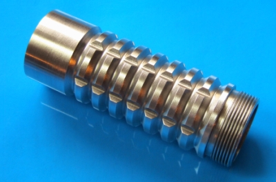 MHS ribbed extension v-grooved