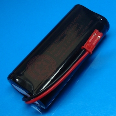7.4v Li-ion 1050mAh 14650 Battery Pack