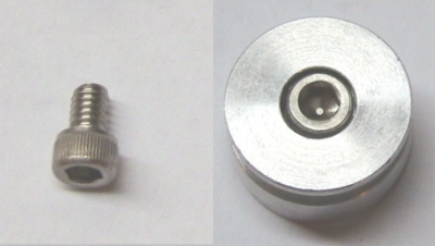 "8-32 x 1/4"" socket head"