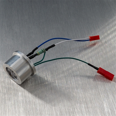 Red/Red/White Cree Star LED & MHSV1 Heatsink Module for use with NBv4 Assembly