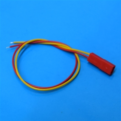 JST Female connector 26AWG Yellow/Red